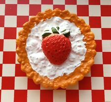 VTG Pretend Play Food Kitchen Learning Baking 🍓Strawberry 🍓 Cream PIE TART