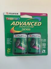Fuji Film Photo System Nexia 200 Speed Film 2 Pack New Expire 03/2007 Aps camera