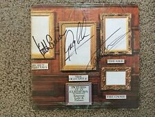 ELP Emerson Lake and Palmer signed lp by all 3 Picture at an Exhibition