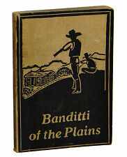 BANDITTI OF THE PLAINS by Asa Mercer ~ 2nd Edition 1930 ~ BANNED BOOKS Cattlemen
