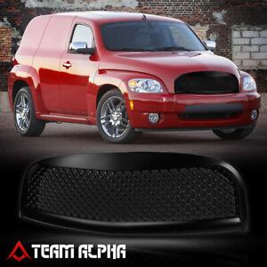 Matte Black 3D Wave Mesh Front Bumper Grille/Grill fits 06-11 Chevy HHR Non-SS