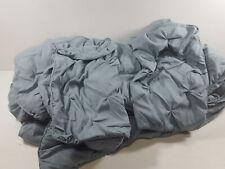 Pinch Pleat Comforter Set - Full/Queen, Spa Blue