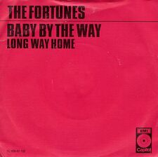 7inch THE FORTUNES baby by the way HOLLAND EX RED COVER 1972