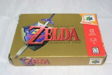 Legend of Zelda: Ocarina of Time (Nintendo 64, 1998) Complete in Box