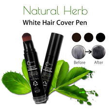 Natural Herb White Hair Cover Pen Long-Lasting Temporary One-off Hair Dye X