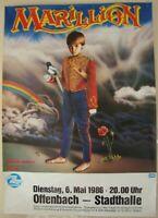 MARILLION / MISPLACED CHILDHOOD - OFFENBACH - STADTHALLE 1986 - KONZERTPOSTER