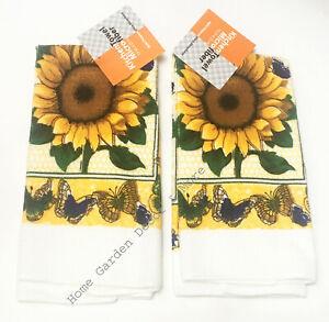 Sunflower Kitchen Towels For Sale Ebay