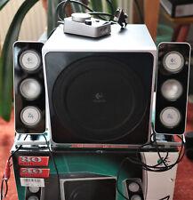 Logitech Z-4 PC-Lautsprechersystem 2.1 40 Watt schwarz / Boxen / Subwoofer / Z4