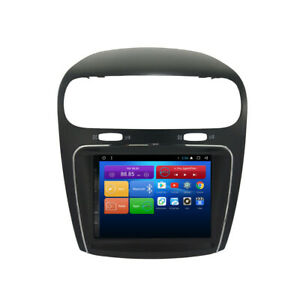 Android 9.0 Car radio GPS Navigation for Dodge Journey&Fiat Leap 2009-2015 8.8''
