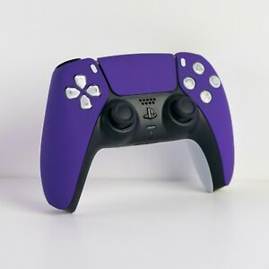 New Custom Sony PlayStation Soft Touch Purple PS5 Dualsense Wireless Controller