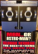 MAN OR ASTRO-MAN BLONDE REDHEAD CONCERT POSTER by Henry Owings Edn of 100