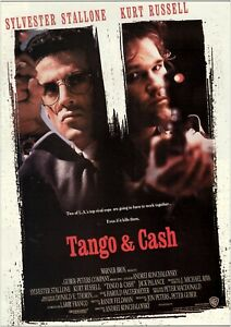 Poster - Tango and Cash Classic Movie Art Print - Gift Idea - No Frame