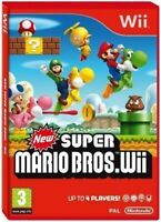 New Super Mario Bros Nintendo Wii MINT Same Day Dispatch 1st Class Delivery Free