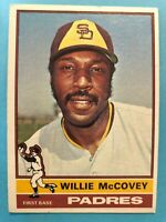 1976 Topps Baseball Card #520 Willie McCovey  San Diego Padres HOF