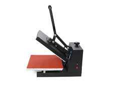 HIGH PRESSURE HEAT PRESS MACHINE 38x38cm for vinyl t shirt, sublimation ink