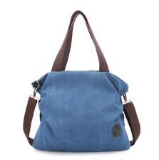 Women Canvas Handbags Shoulder Crossbody Bag Tote Satchel Travel School Bookbag