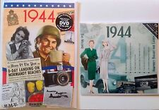 1944 73rd Birthday Gifts Set - 1944 DVD , CD and Card - CD Card Company