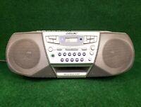 Sony Boom Box CFD-S32 CD Radio Cassette AM/FM Ghetto Blaster Mega Bass