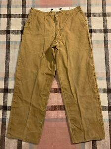 Vintage Penneys Foremost  Brown Duck Hunting Pants 33x30!!! 5915