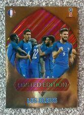 Panini Russia World Cup 2018 Limited Edition Les bleus XXL Very Rare Mega selten