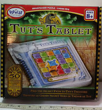 Popular Playthings Tuts Tablet Brainteaser Puzzle 50 Cryptic Challenges to Solve