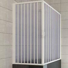Sopravasca angolare con soffietto 70 x 170 in acrilico a doppia apertura ai lati