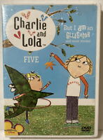 New Charlie and Lola Volume Five 5 But I Am an Alligator and More DVD BBC Video