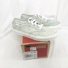 Vans Camden stripe light blue henna Sneakers Missy 4.5 laces new box