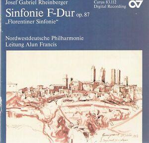"""Sinfonie F-Dur op. 87  """"Florentiner Sinfonie""""  Nordwestdeutsche Phi, CD-Album"""