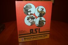 ASL Advanced Squad Leader Rules WWII Tactical Warfare Game Avalon Hill 1985 NEW