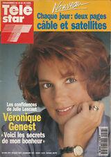 Télé Star N°916 - Véronique Genest - Denzel Washington - V. Genest - Cybill Shep