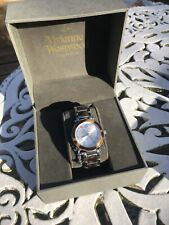 "Vivienne Westwood ""Time Machine"" Watch Orb, Tortoise Shell Ladies Watch"