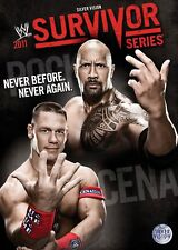 WWE Survivor Series 2011 DVD DEUTSCHE VERKAUFSVERSION NEU
