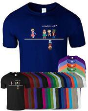 WHERE'S WILL Stranger Things 8 Bit Kids T Shirt ELLE ELEVEN Funny Top T-Shirt