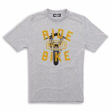 DUCATI Metropolitan ride ss14 t- shirt maglietta m/corta grigia TG. S -