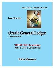 Oracle General Ledger - See - Hear - Review - Learn: How-To Learning - Audio | V
