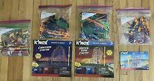 Lot Knex/K'nex Building Pieces/Parts w/motors Including 3 Complete set- Rollar