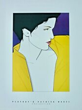 Vintage 1992 PATRICK NAGEL Playboy Special Editions Limited Lithograph RARE!