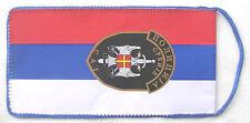THE REPUBLIC OF SERBIA - SPECIAL ANTITERRORIST UNIT POLICE FLAG