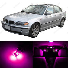 14 x Pink/Purple LED Interior Light Package For 1999 - 2005 BMW 3 Series M3 E46
