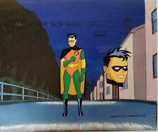 Warner Brothers-Batman- Robin Full Figure Front And Head Model Cel