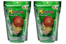 2x100g M Okiko Humpy Head Flowerhorn Fish Food  Highly Aquarium Cichlids Pellet