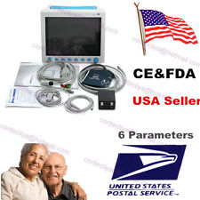 FDA CMS8000 ICU/CCU vital Signs Patient Monitor 6 Parameters Clinic/Hospital,USA