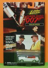 JOHNNY LIGHTNING 98 JAMES BOND 007 - FORD MUSTANG - GOLDFINGER + GOLF CARD - MOC
