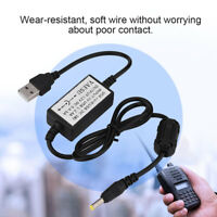 USB Charging Cable Charger for YAESU VX6R/VX7R/VX8R/FT-1DR/VXA150 Walkie Talkie