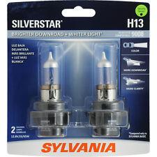 NEW Sylvania SilverStar H13 Twin 2 Pack Headlight Bulb H13ST.BP2 9008