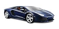 Maisto Lamborghini Aventador LP 700-4 Diecast Vehicle 1:24 Scale, Metallic Blue