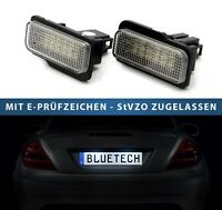 2X Canbus LED Kennzeichenbeleuchtung Leuchte Kit für Mercedes-Benz C-Klasse W203
