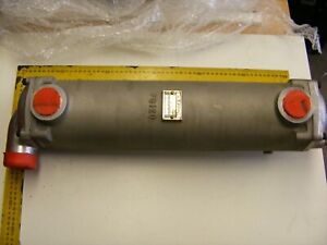 Bowman 3733 3 FG120 heat exchanger complete, Perkins/JCB/Cat marine application