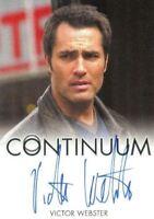 Continuum Seasons 1 & 2 Victor Webster as Carlos Fonnegra Autograph Card
